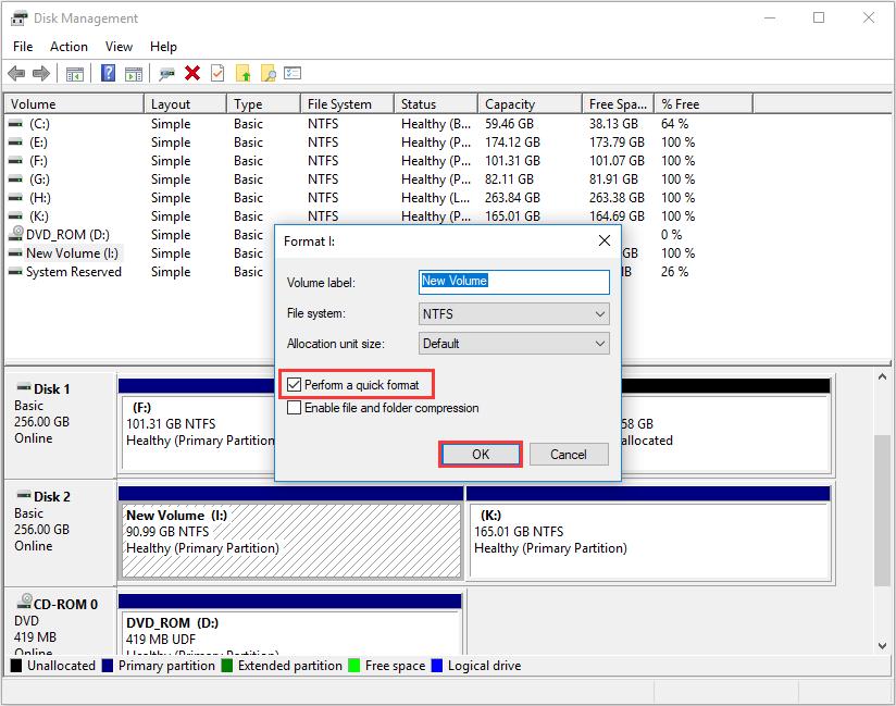 Paso 5 Formatear SSD