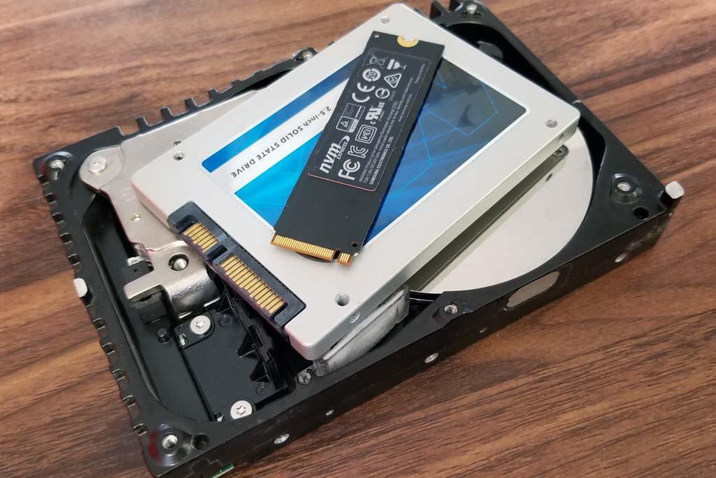 disco duro sólido o SSD