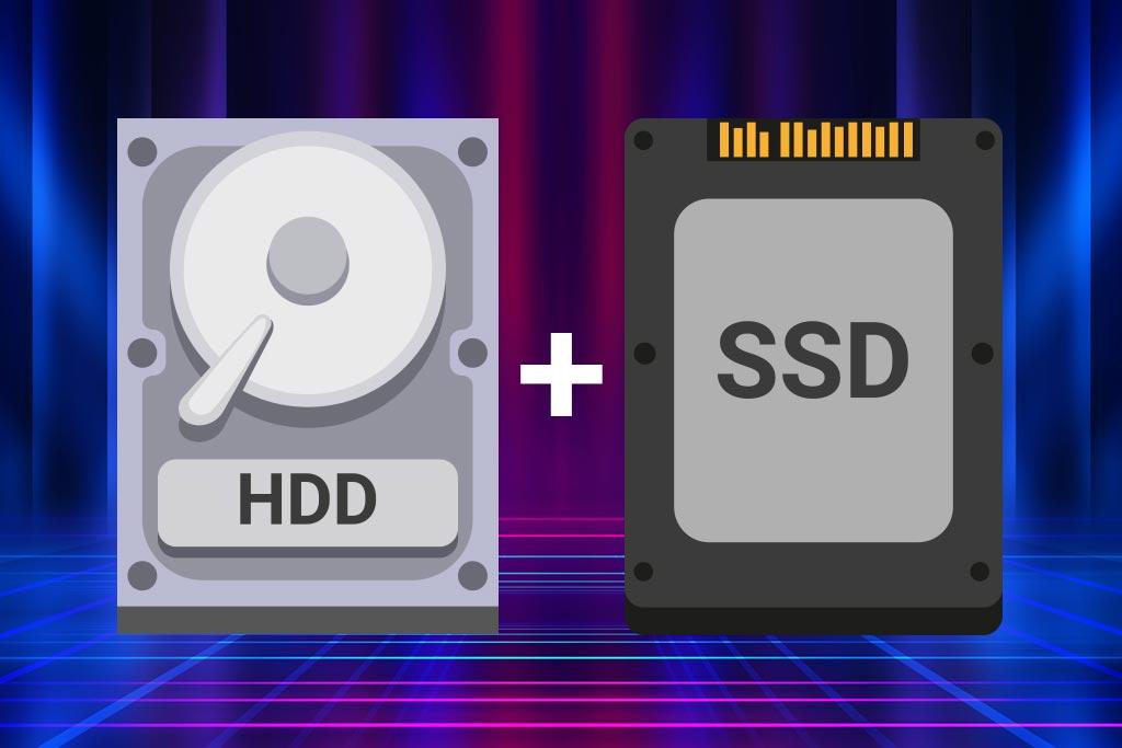SSD y HDD juntos en un ordenador