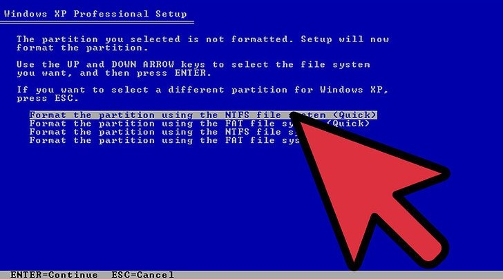 Como formatear disco duro desde la bios en Windows XP