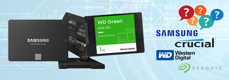 10 mejores marcas de unidades de estado sólido SSD